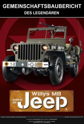 Willys Jeep bauen von hachette